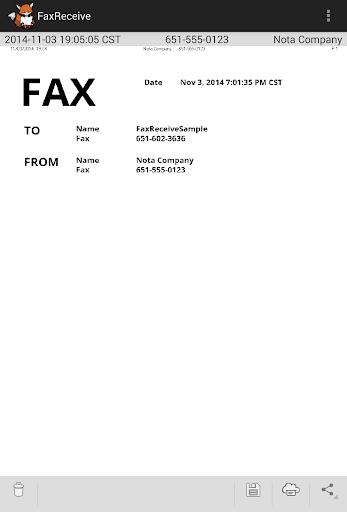 FaxReceive - receive fax phone screenshot 7