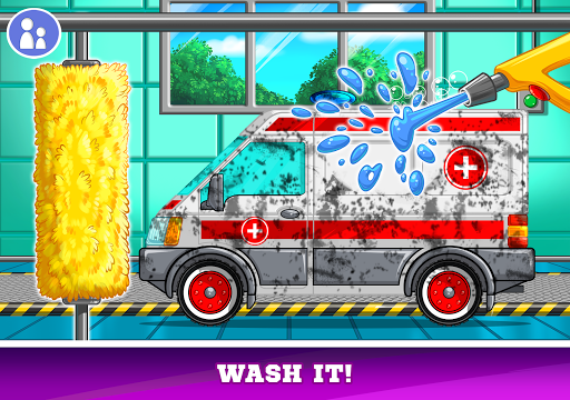 Kids Cars Games! Build a car and truck wash! screenshot 17