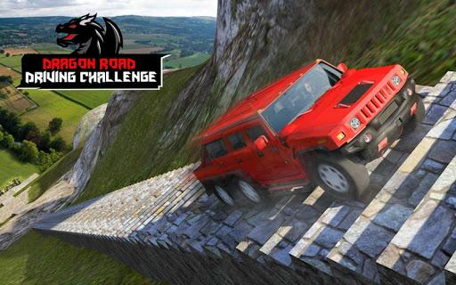 Cruiser Car Stunts: Dragon Road Driving Simulator screenshot 14