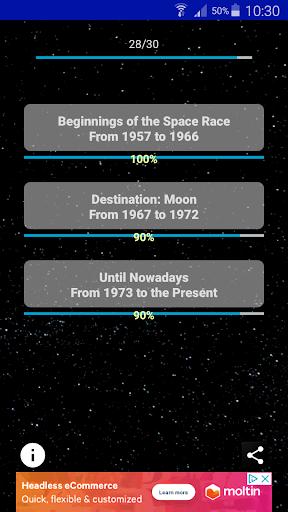 Astronautic Quiz 7 تصوير الشاشة