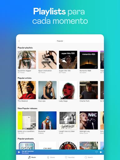 Deezer: música, playlists y podcasts screenshot 12
