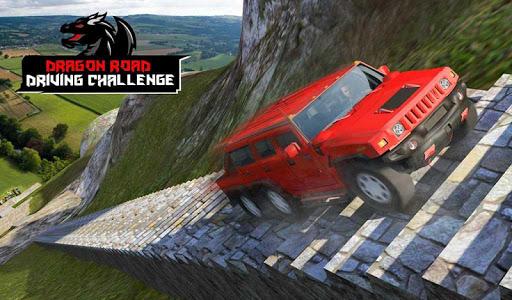 Cruiser Car Stunts: Dragon Road Driving Simulator screenshot 8