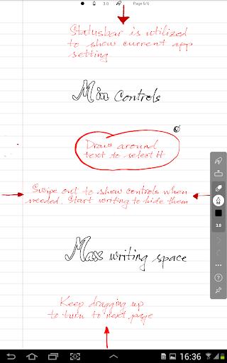 INKredible - Handwriting Note 11 تصوير الشاشة