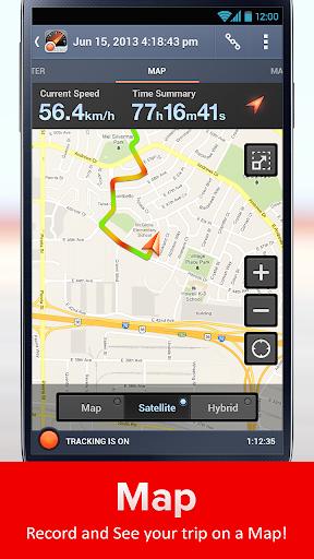Speed Tracker. GPS Speedometer and Trip Computer screenshot 3