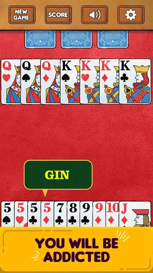 Gin Rummy Free! screenshot 4