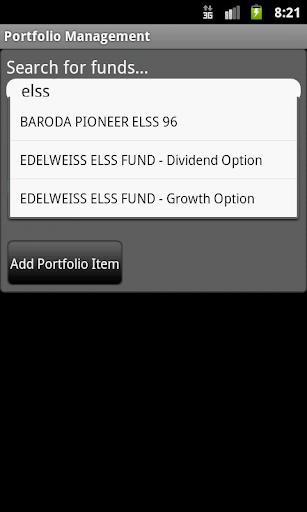Indian Mutual Funds Tracker screenshot 2
