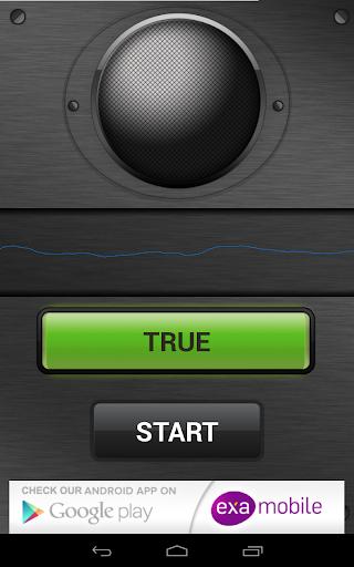 كشف الكذب صوت - مزحة 6 تصوير الشاشة