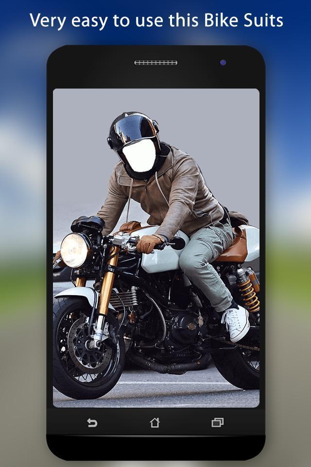 Bike Photo Suit screenshot 1
