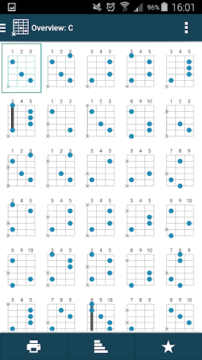 smart Chord & tools (гитара,.. скриншот 11