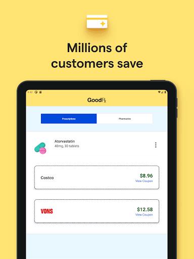GoodRx: Prescription Drugs Discounts & Coupons App 13 تصوير الشاشة