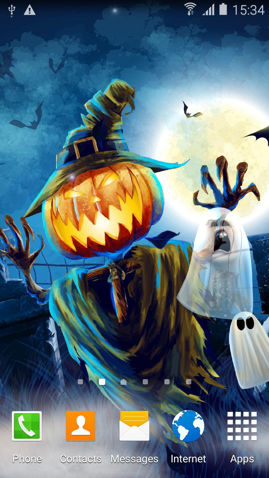 Halloween Live Wallpaper screenshot 1
