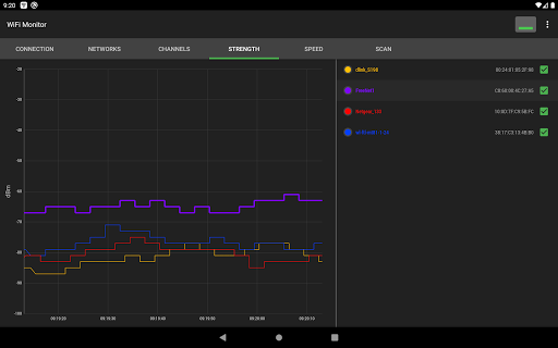 WiFi Monitor: analyzer of WiFi networks screenshot 18