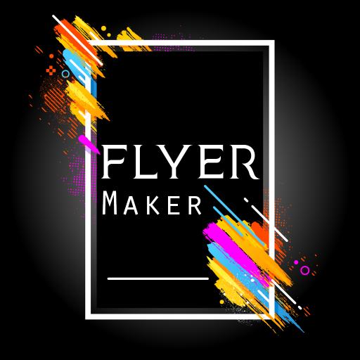 Flyers, Poster Maker, Graphic Design, Banner Maker أيقونة