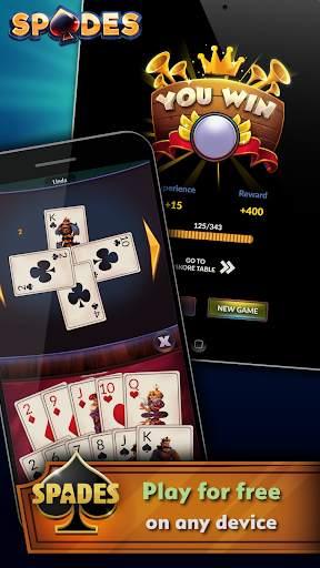 Spades - Offline Free Card Games screenshot 5