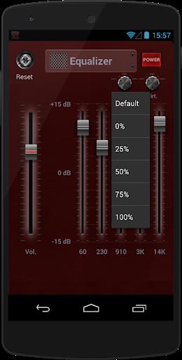 الداعم المعادل الموسيقى 3 تصوير الشاشة