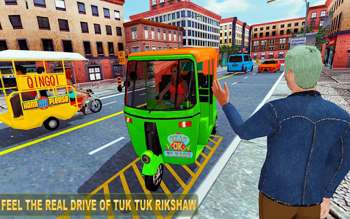 Tuk tuk Chingchi Rickshaw: City Rickshaw driver screenshot 1