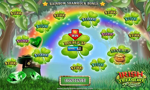 Irish Treasure Rainbow Bingo FREE screenshot 2