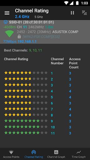WiFi Analyzer (open-source) screenshot 3