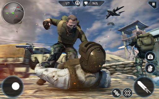 Anti Terrorism New Shooting Games 2021 screenshot 1
