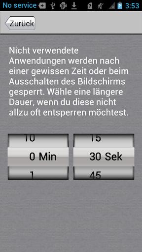App-Sperre screenshot 5