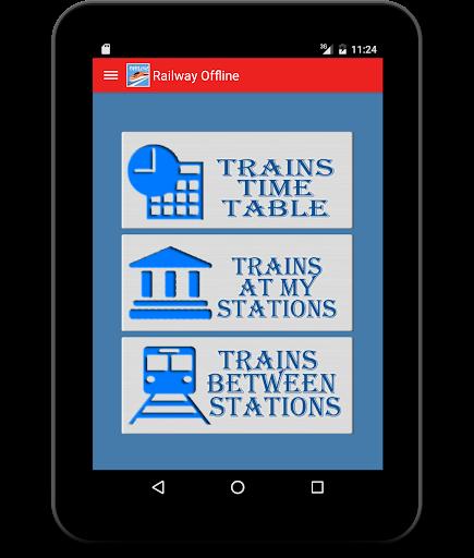 Indian Rail Offline Time Table screenshot 8