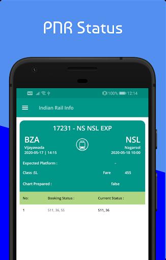Live Train & Indian Railway PNR Status - IRCTC screenshot 6