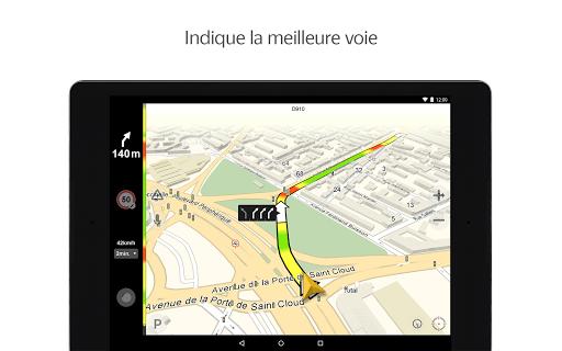 Yandex.Navi - Île-de-France screenshot 6