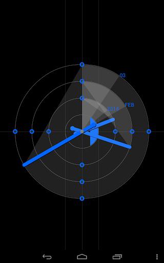 ReGular Clock Live Wallpaper 2 تصوير الشاشة