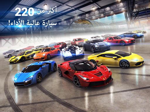 Asphalt 8: القيادة الهوائية - سباق سيارات ممتعة 8 تصوير الشاشة