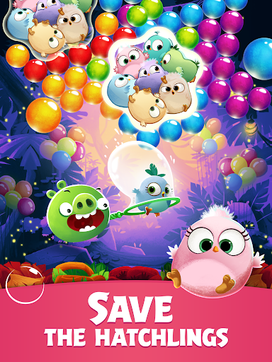 Angry Birds POP Bubble Shooter 8 تصوير الشاشة