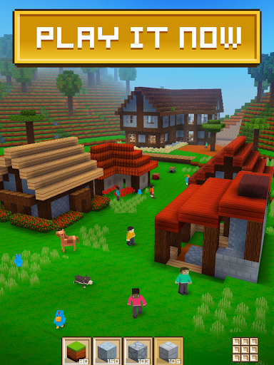 Block Craft 3D: Building Simulator Games For Free screenshot 1