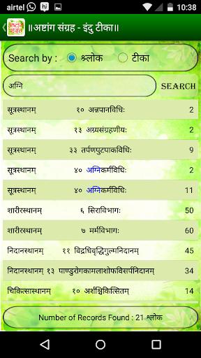 Ashtang Sangraha - Indu Teeka 6 تصوير الشاشة