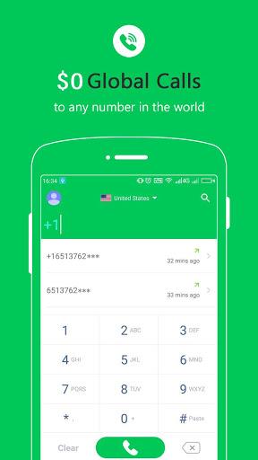 Free Calls - International Phone Calling App screenshot 1
