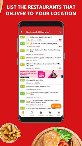Yemeksepeti - Order Food & Grocery Easily screenshot 3