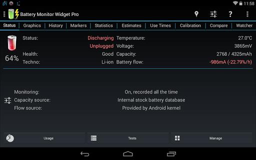 3C Battery Manager 10 تصوير الشاشة