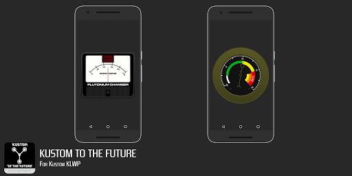 Kustom to the Future for KLWP screenshot 3