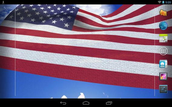 US Flag Live Wallpaper screenshot 9