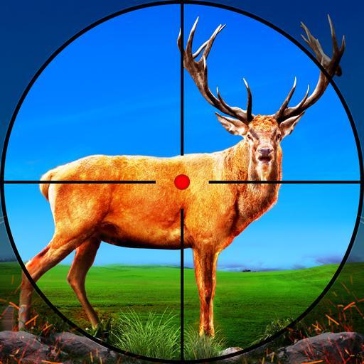 Wild Deer Hunter 3D :Wild Animal Shooting Games أيقونة