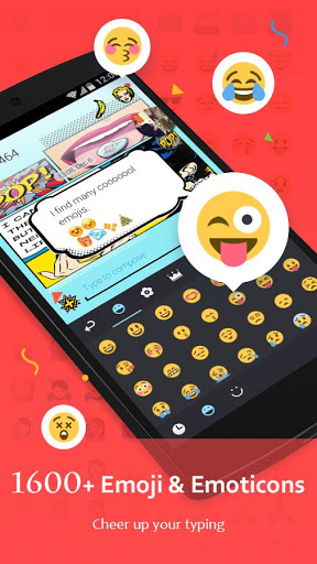 GO Keyboard - Cute Emojis, Themes and GIFs screenshot 3