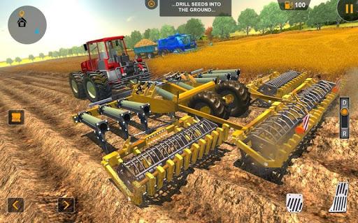 водить машину трактор транспорте скриншот 5