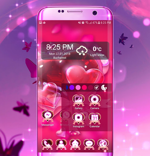 Butterfly Launcher Themes screenshot 3