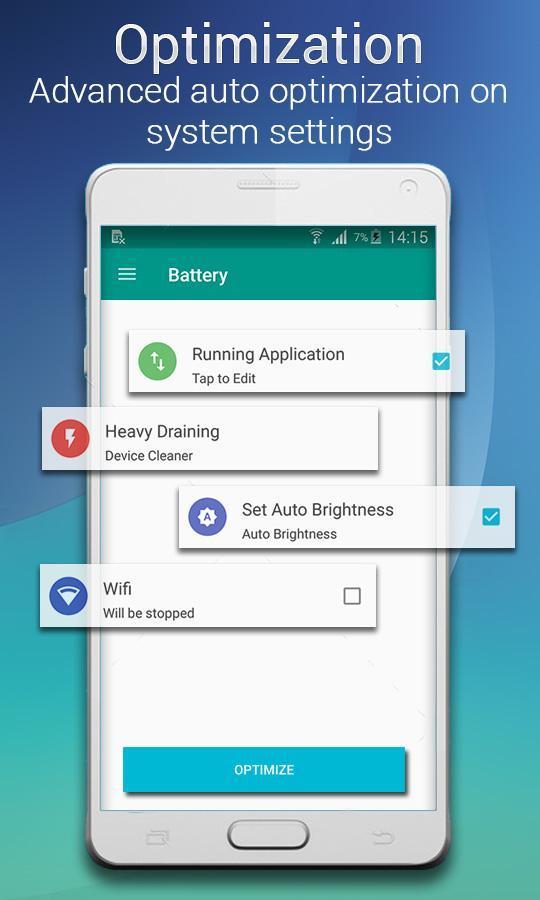 Smart Battery Doctor Battery Saver & Booster 2 تصوير الشاشة