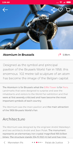 Brussels Guide by Civitatis screenshot 7