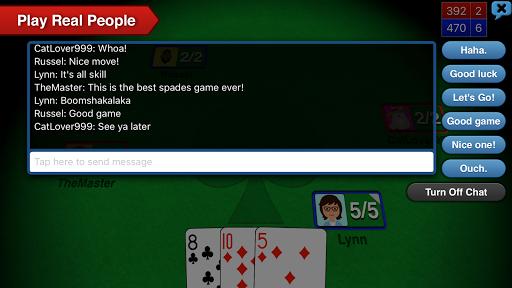 Spades   5 تصوير الشاشة