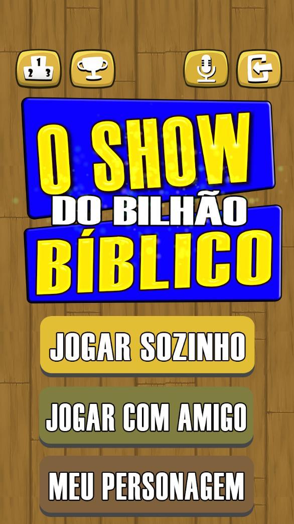 O Show do bilhão Bíblico 2020 Perguntas da Bíblia screenshot 7