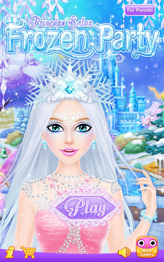 Princess Salon: Frozen Party screenshot 1