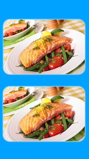 البحث عن 5 الاختلافات - صور الطعام اللذيذ 3 2 تصوير الشاشة