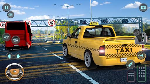 City Taxi Driving simulator: PVP Cab Games 2020 screenshot 5