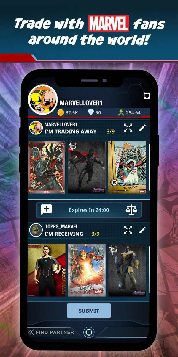 Marvel Collect! by Topps Card Trader screenshot 2