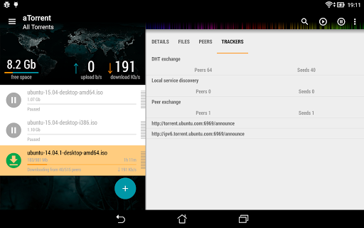 aTorrent - torrent downloader screenshot 17